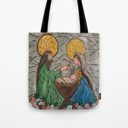 Holy Family 2 Tote Bag
