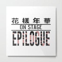 BTS On Stage Epilogue Metal Print