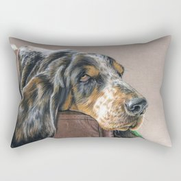 Hound Dog Rectangular Pillow