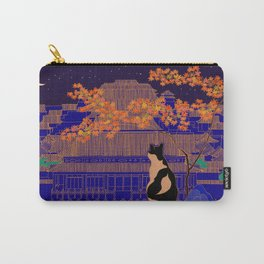 Blue Forbidden City Carry-All Pouch