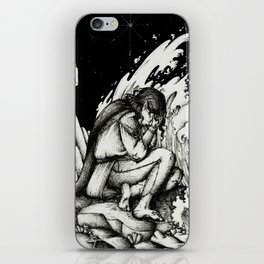 Maglor by the sea iPhone Skin