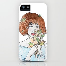 Miss Otoño iPhone Case