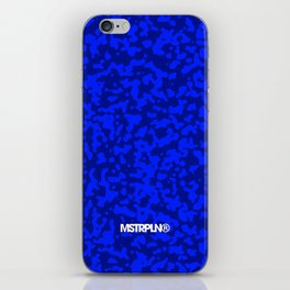 Comp  Camouflage / Blue iPhone Skin