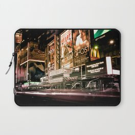 Lights on Broadway Laptop Sleeve