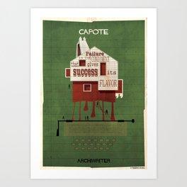021_ARCHIWRITER_Truman Capote Art Print