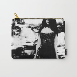 Sweet Black Angel (Sexy Noir Version) Carry-All Pouch