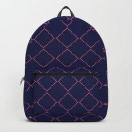 Blue Vintage Backpack