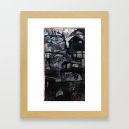 No Vacancy Framed Art Print