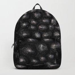 Denim Silver Sea Shell Backpack