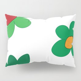 Hand Drawn Flowers (Jahaira) Pillow Sham