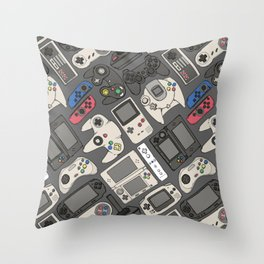 Video Game Controllers in True Colors Deko-Kissen