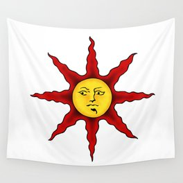 Praise the sun Wall Tapestry