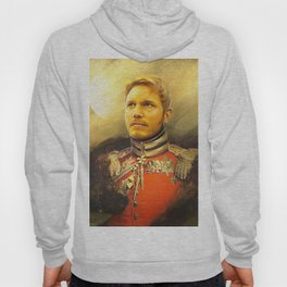 Starlord Guardians Of The Galaxy General Portrait Painting | Fan Art Hoody