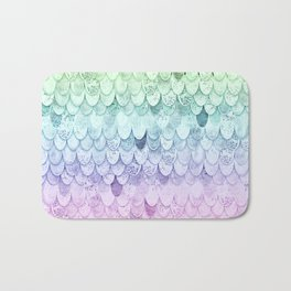 RAINBOW MERMAIDSCALES - MAGIC MERMAID Bath Mat