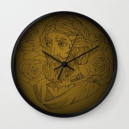 Tattooed Pythagoras Wall Clock