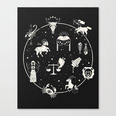 Strange Fortunes: Midnight Canvas Print