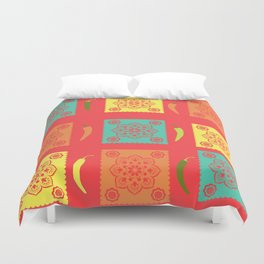 Chili Mexico Duvet Cover