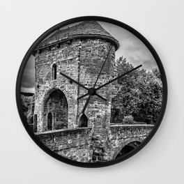 The Gateway To Monmouth Wall Clock
