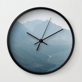 Consolation Lakes Wall Clock