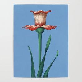 Aquarius Flower Variation One Poster