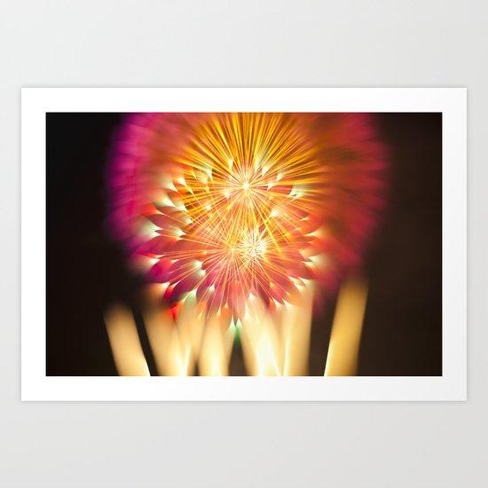 Efflorescence 13 Art Print