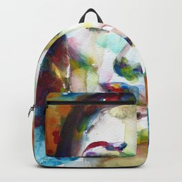 MARIA CALLAS - watercolor portrait.9 Backpack