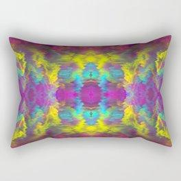 Glitchy Experiment | No. 21 Rectangular Pillow