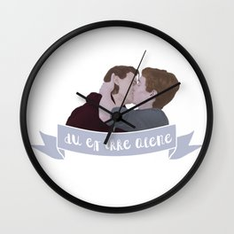 du er ikke alene Wall Clock