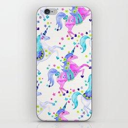 Pastel Unicorns iPhone Skin