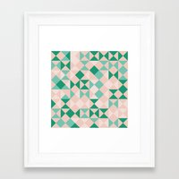 emerald Framed Art Prints featuring Emerald  by Leandro Pita