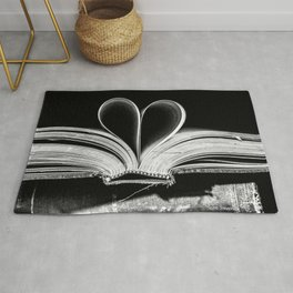 The Heart that Bends doesn't break. Rug