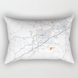 FanMap | NCAA Auburn #05 Rectangular Pillow