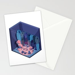 Secret Fortress Stationery Cards