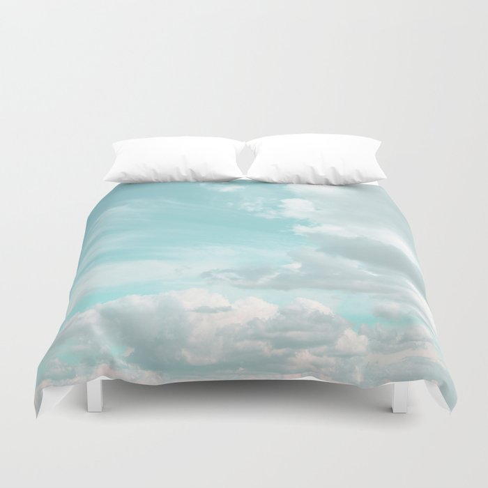 Head in the clouds #buyart #decor #freshair Duvet Cover