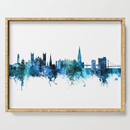 Exeter England Skyline Serving Tray