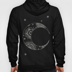 Galaxy mandala moon Hoody