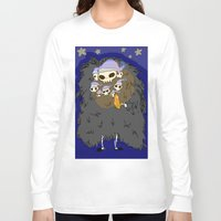 dark souls Long Sleeve T-shirts featuring Dark Souls- Goodnight Nito by Mango Mamacita