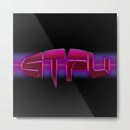 STFU x LA Metal Print