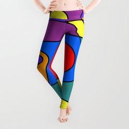 Abstract #71 Leggings