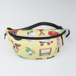 Acceptable in the 80s Fanny Pack