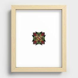 untitled star Recessed Framed Print