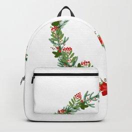 Christmas wreath Backpack