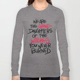 Grand Witches Long Sleeve T-shirt