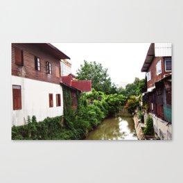 Tha Phae Canal Canvas Print