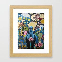 Somewhere Else 3/4 Framed Art Print