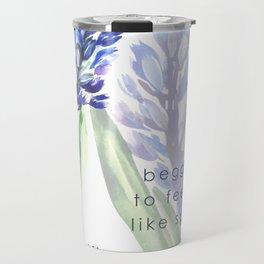 Hyacinth flowers Travel Mug