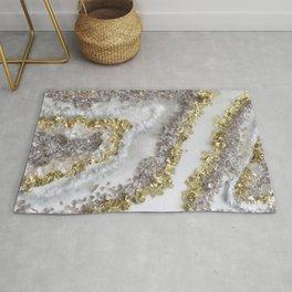 Geode Art Rug