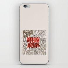 Apocawhoops! iPhone & iPod Skin