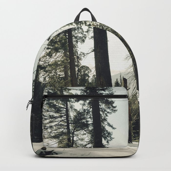 Winter Sequoia Forest Backpack