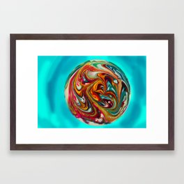 Psychoplanet #1 Framed Art Print